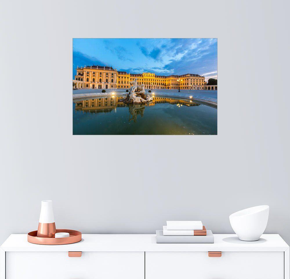 Posterlounge Wandbild »Schloss Schönbrunn, Wien«
