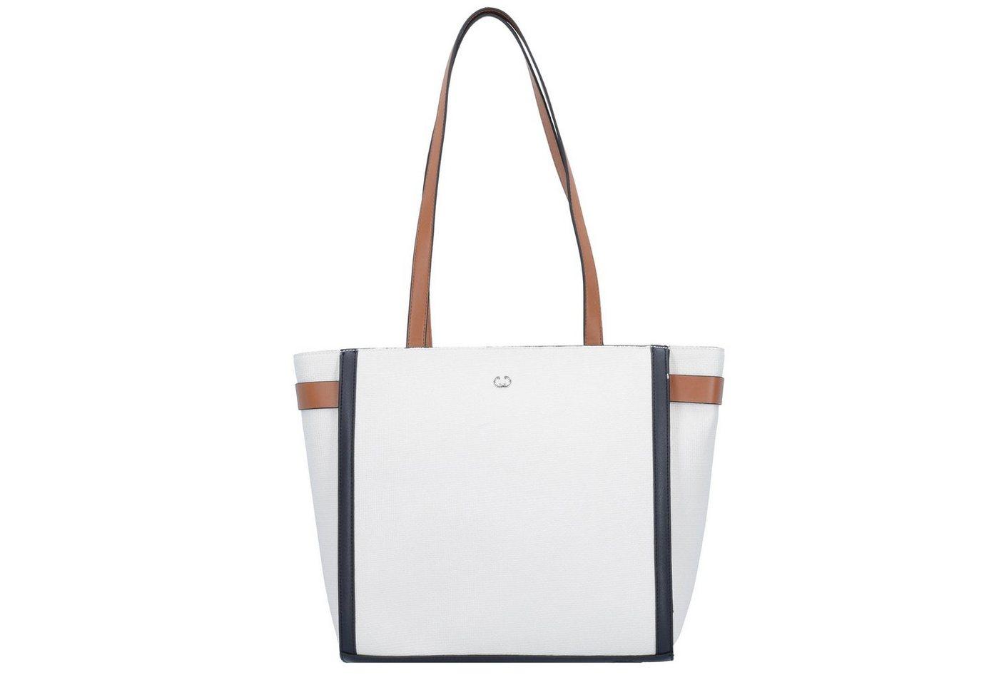 Gerry Weber Aquatic Shopper Tasche 30 cm | Taschen > Umhängetaschen | Weiß | Gerry Weber