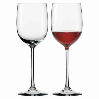 Eisch Rotweinglas »Bordeauxglas 2er Set Jeunesse 360 ml«, Kristallglas