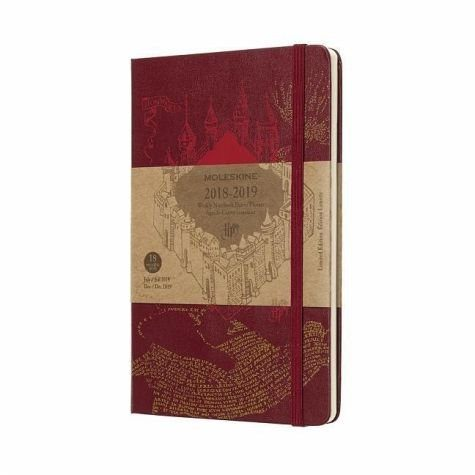 Gebundenes Buch »Moleskine Wochen Notizkalender, Harry Potter,...«