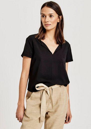OPUS Shirtbluse »Faleria« im schönen Materialmix
