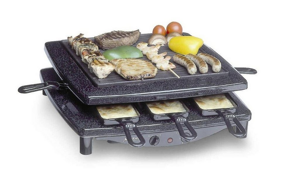 steba raclette rc 3 plus 8 raclettepf nnchen 1450 w online kaufen otto. Black Bedroom Furniture Sets. Home Design Ideas