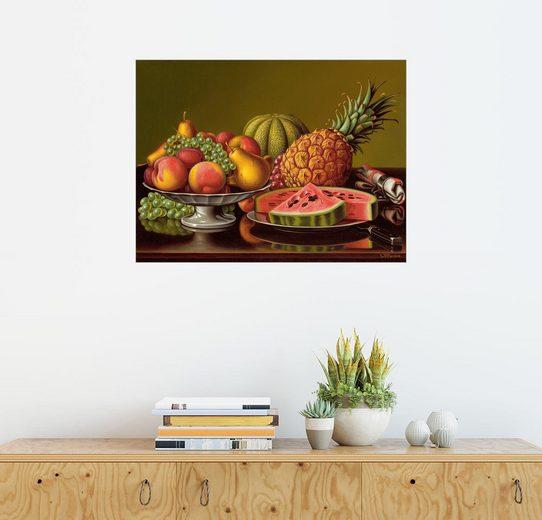 Posterlounge Wandbild - Levi Wells Prentice »Stillleben mit Früchten«