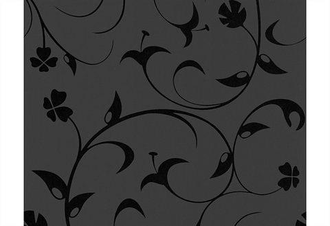 Vliestapete, Livingwalls, »Mustertapete Jardin des Plantes by Lars Contzen« in schwarz
