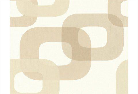 Vliestapete, living walls, »Mustertapete New Transparency by Lars Contzen, Retrodesign«