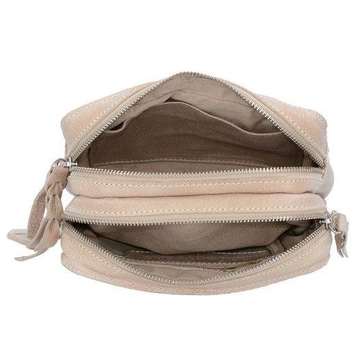 Umhängetasche 19 Leder Cm Cowboysbag Sand Folkestone KFcl1J