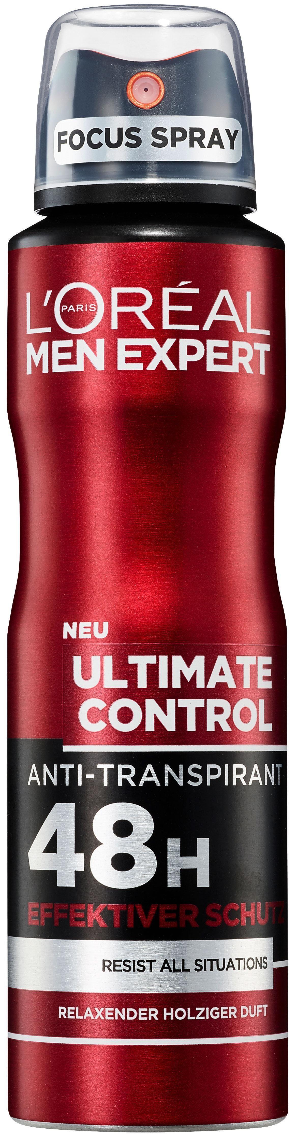 L'Oréal Paris Men Expert, »Ultimate Control«, Deo-Spray