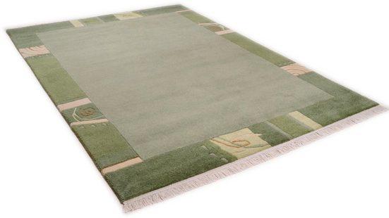 Teppich »Sierra 12447«, THEKO, rechteckig, Höhe 14 mm, von Hand geknüpft