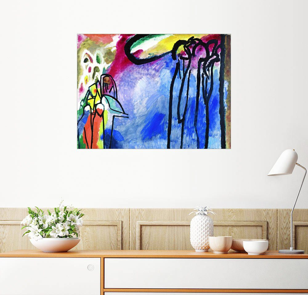 Posterlounge Wandbild - Wassily Kandinsky »Improvisation 19«