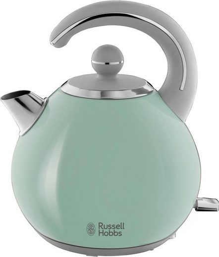 RUSSELL HOBBS Wasserkocher Bubble Soft Green 24404-70, 1,5 l, 2300 W