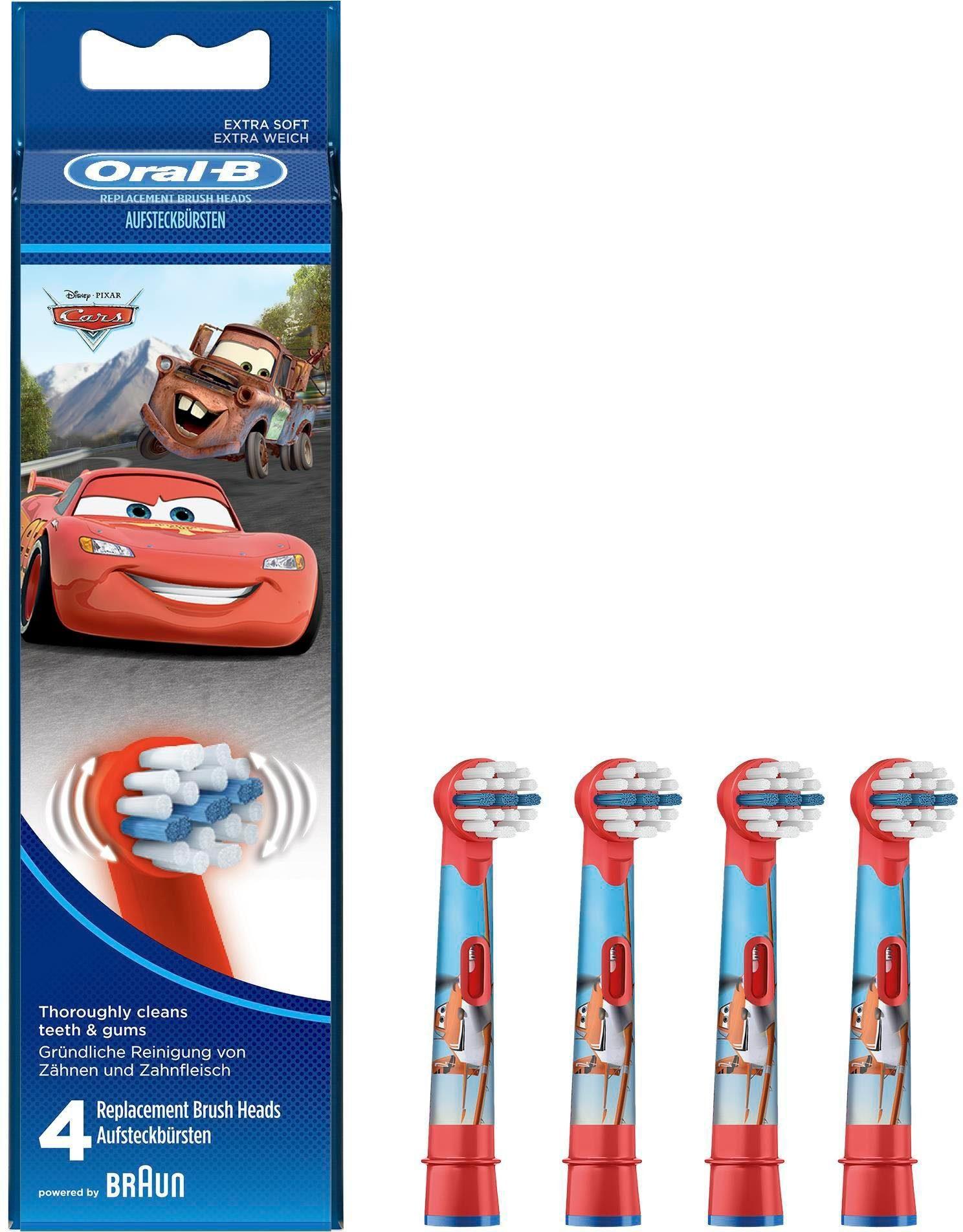 Oral-B Stages Aufsteckbürsten Mit Disney-Figuren, 4er Pack