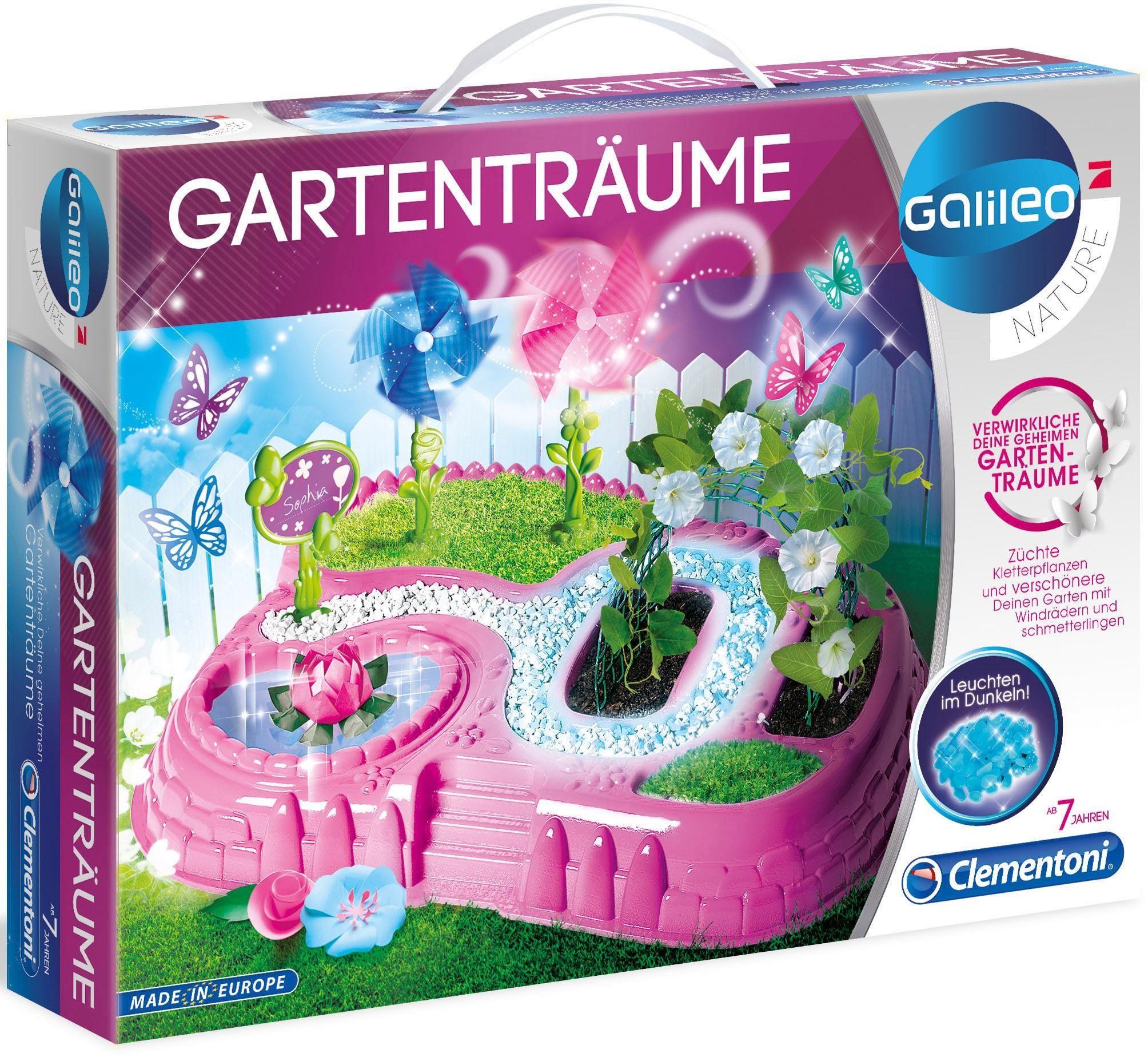 Clementoni Experimentierkasten, »Galileo - Gartenträume«