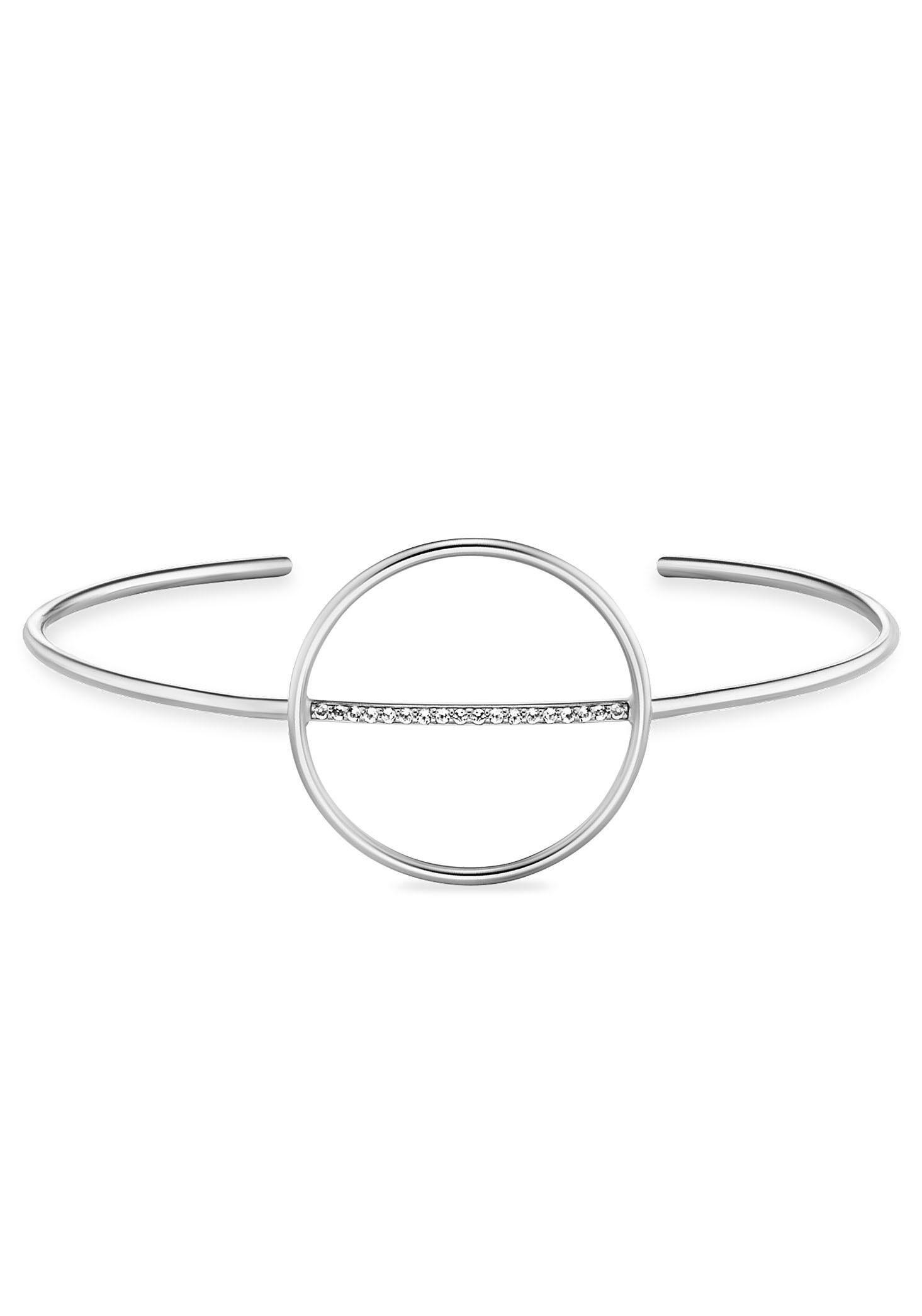 CAÏ Armspange »caï women, solar orbit, C1860B/90/93« mit Topasen