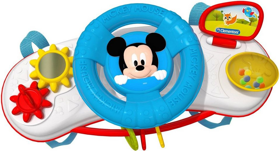 Clementoni Kinderwagenkette Disney Baby Mickey Kinderwagen Activity Center