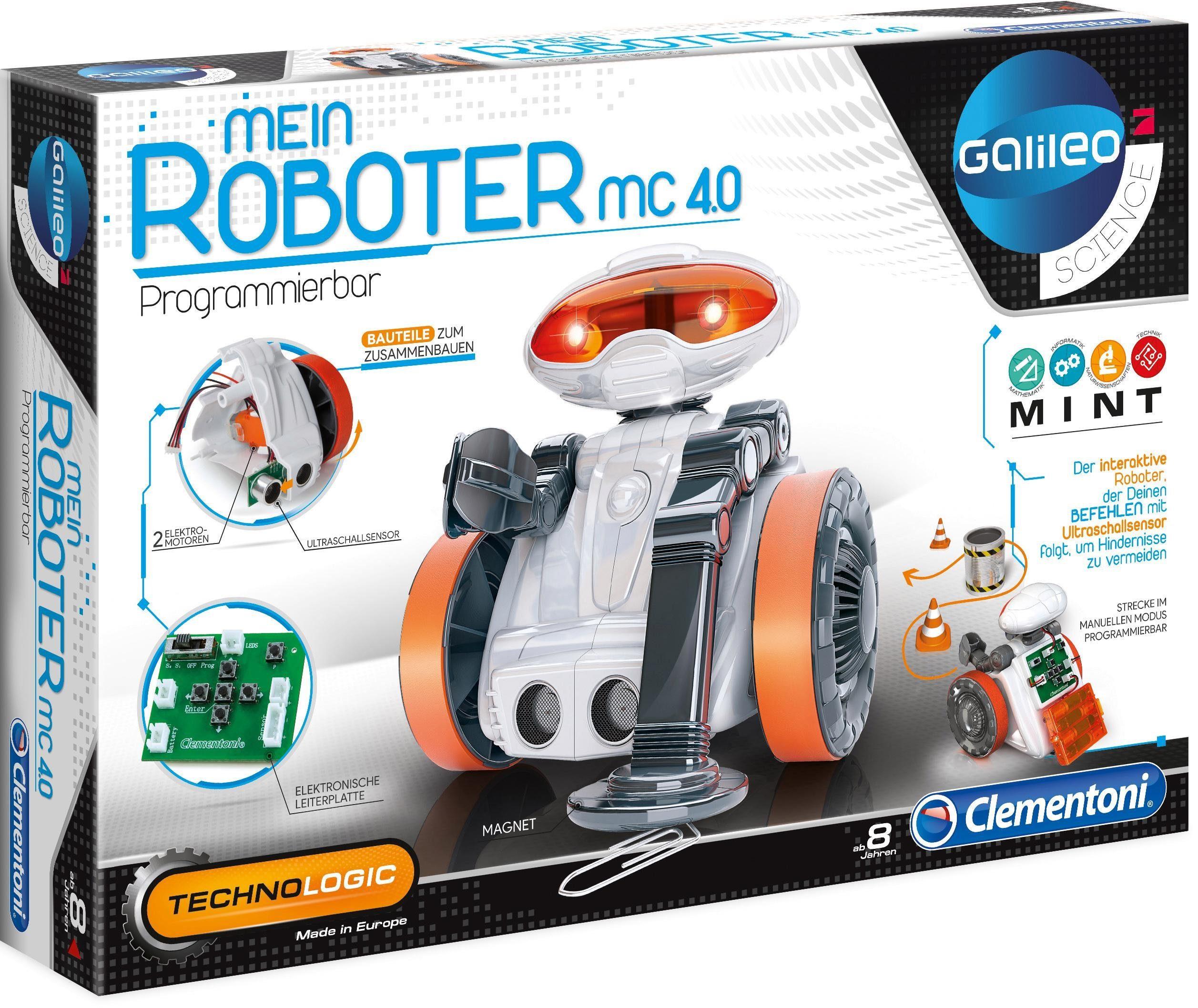 Clementoni Experimentierkasten, »Galileo - Mein Roboter MC 4.0«