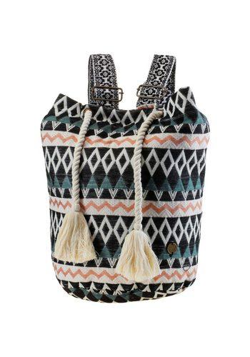 Damen Billabong Strandtasche Bonfire Beachin schwarz | 03607869915635