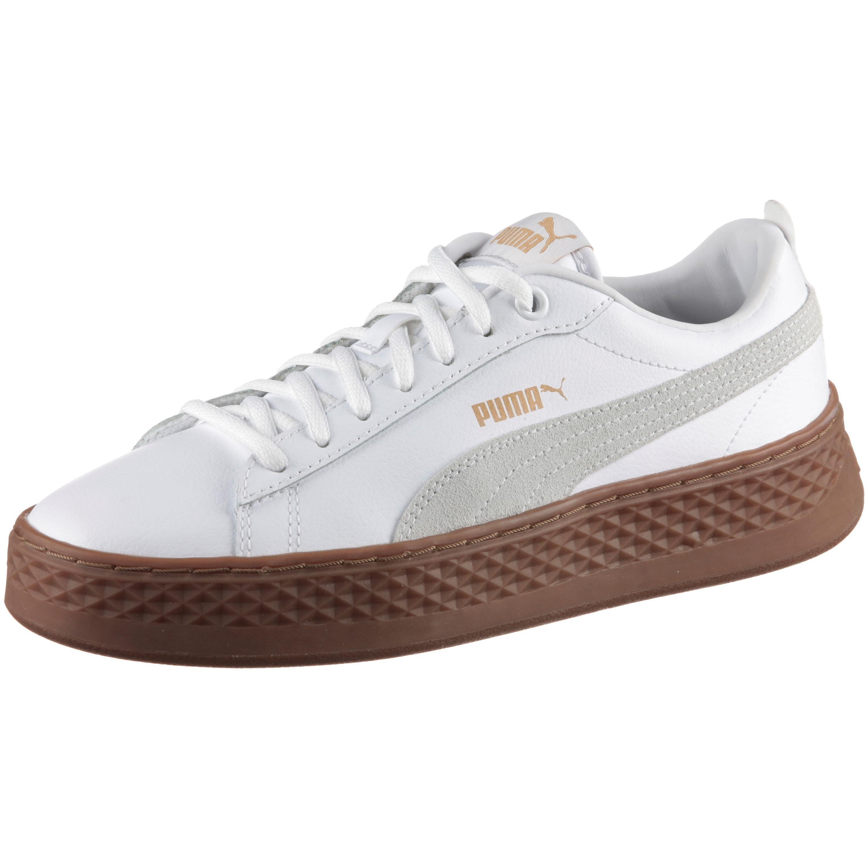 PUMA SMASH PLATFORM L Sneaker online kaufen  white