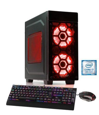 HYRICAN Gaming PC Intel® i7-8700 16GB 1TB 240GB SSD GeForce® GTX 1060 »Striker 5898«