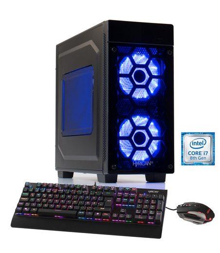Hyrican Gaming PC Intel® i7-8700K 16GB 1TB 240GB SSD GeForce® GTX 1060 »Striker 5892«