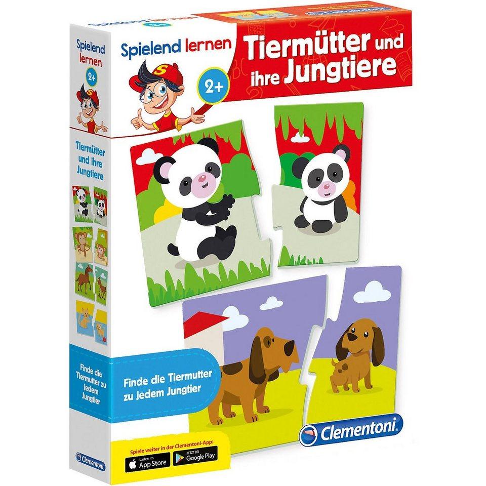 Clementoni® Spielend lernen - Tiermütter und und und ihre Jungtiere online kaufen de1a41