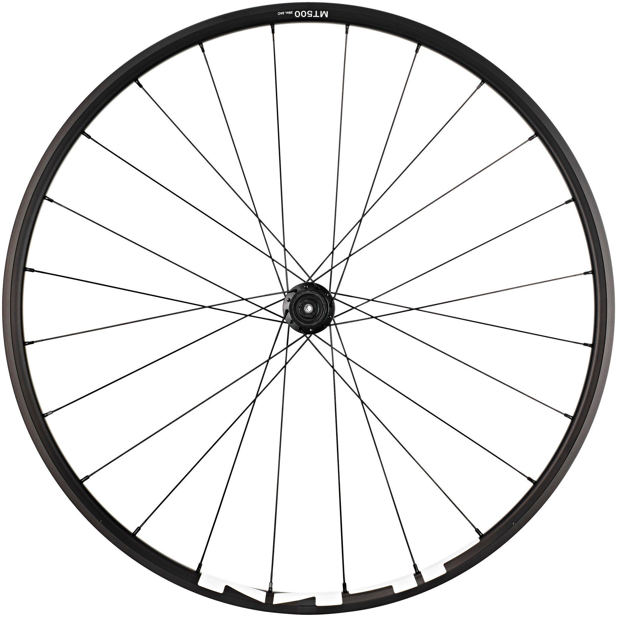 """Shimano Laufrad »WH-MT500 MTB Hinterrad 29"""" Disc CL Clincher QR«"""