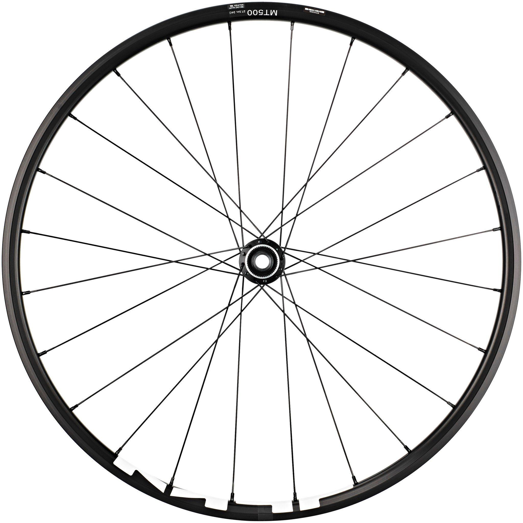 "Shimano Laufrad »WH-MT500 MTB Vorderrad 27,5"" Disc CL Clincher«"