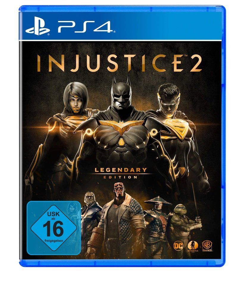 Warner Games Playstation 4 - Spiel »Injustice 2 - Legendary Edition«