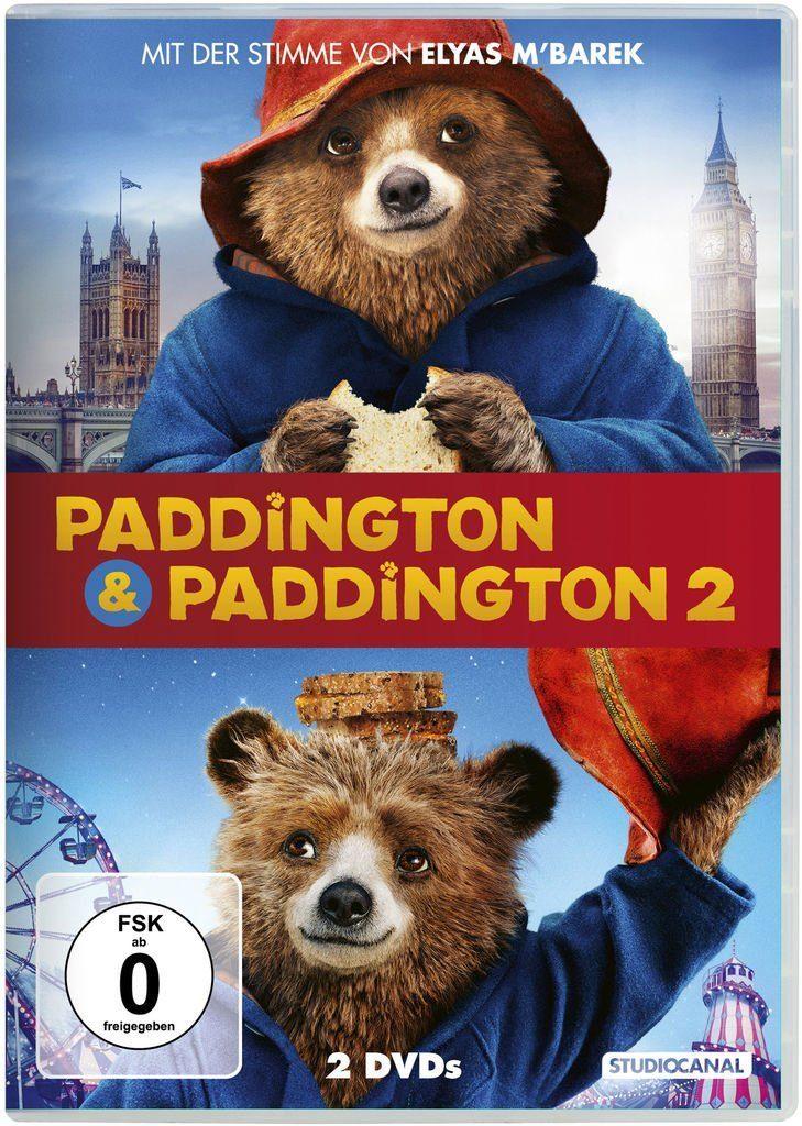 Studiocanal DVD - Film »Paddington 1+2«