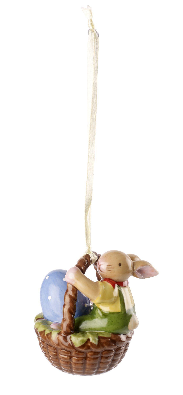 Villeroy & Boch Ornament Korb mit Junge »Bunny Family«
