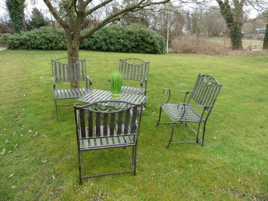 HTI-Living Gartentischgruppe 5-tlg. »Cornwall«