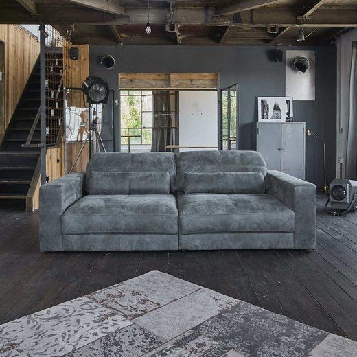 KAWOLA Big-Sofa »GIGANT«, 3,5-Sitzer versch. Ausführungen Leder Nobile