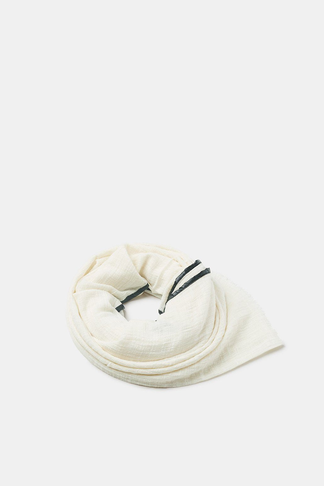 ESPRIT Strukturierter Baumwoll-Schal