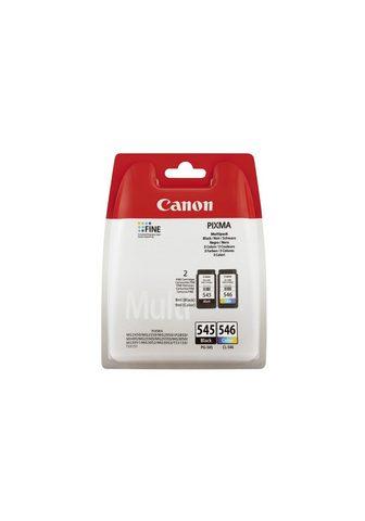 CANON PG-545 / CL-546 Rašalas juoda spalva i...
