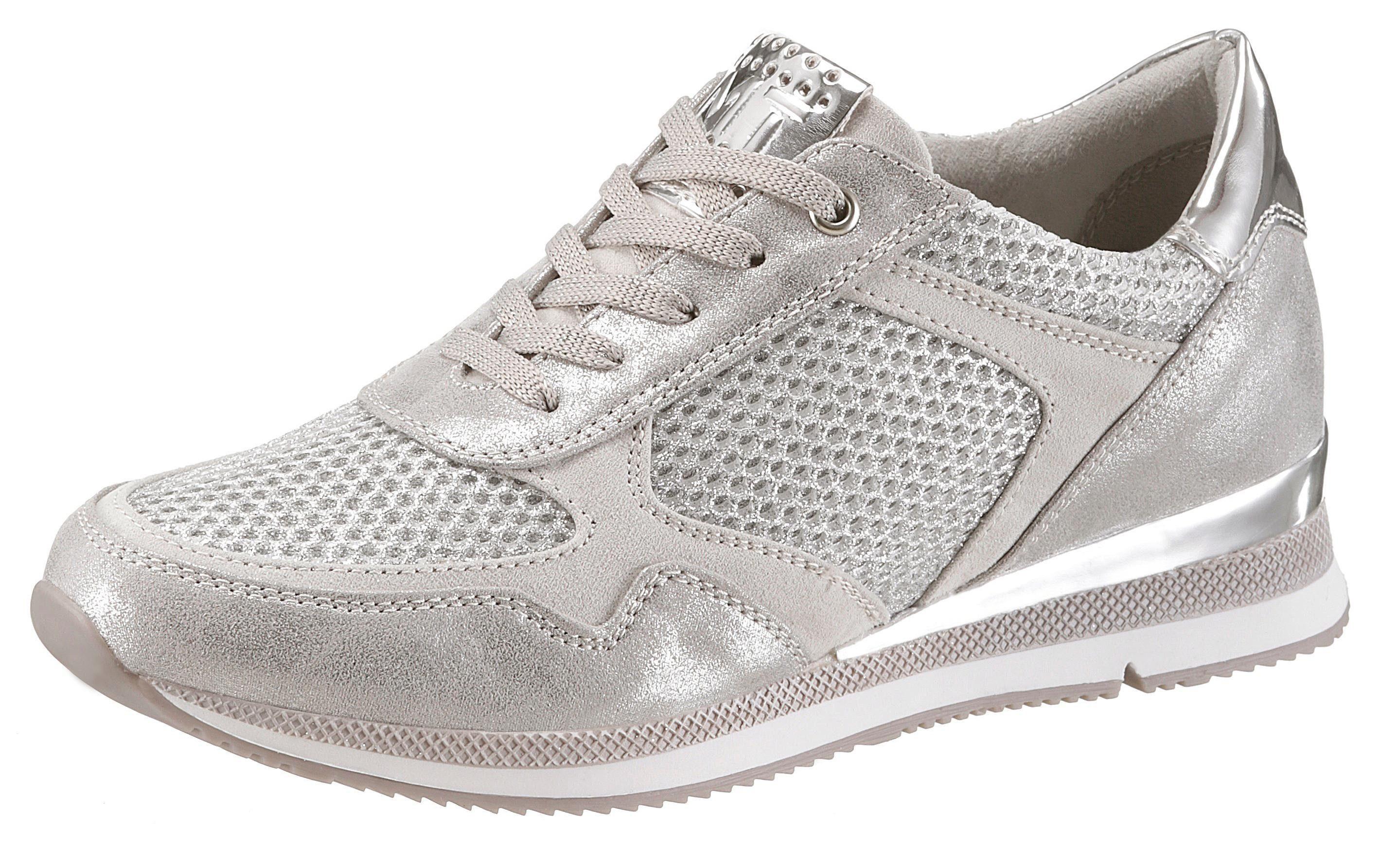 Marco Tozzi Sneaker, aus der TV-Werbung kaufen  silberfarben