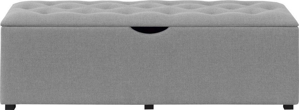 places of style hockerbank knobbed mit stauraum breite 120 cm und 160 cm online kaufen otto. Black Bedroom Furniture Sets. Home Design Ideas