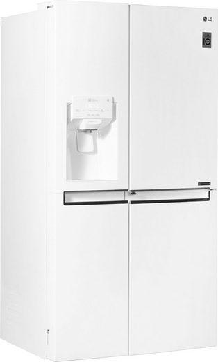 LG Side-by-Side GSJ761SWXZ, 179 cm hoch, 91,2 cm breit, Door-in-Door