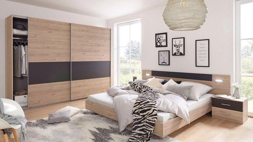Wimex Schlafzimmer-Set »Angie«, 4-teilig, Metallgriffleisten online kaufen    OTTO