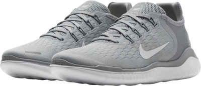 Nike Free Damen Grau Weiß