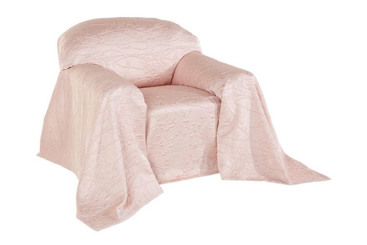 heine home Sesselüberwurf mit Hoch-/Tiefstruktur