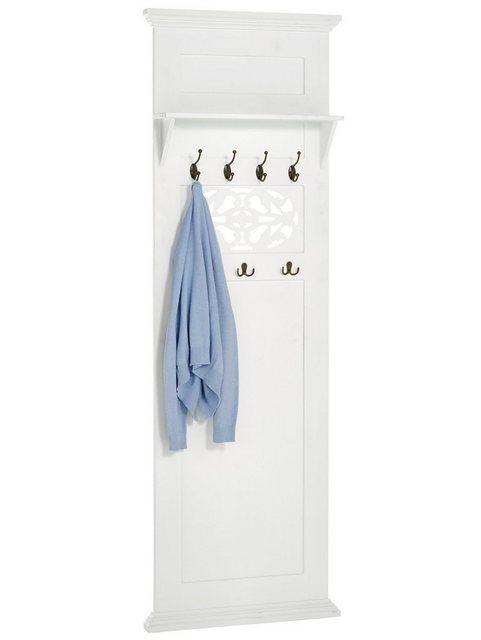heine home Garderobenpaneel weiß   04046884055176