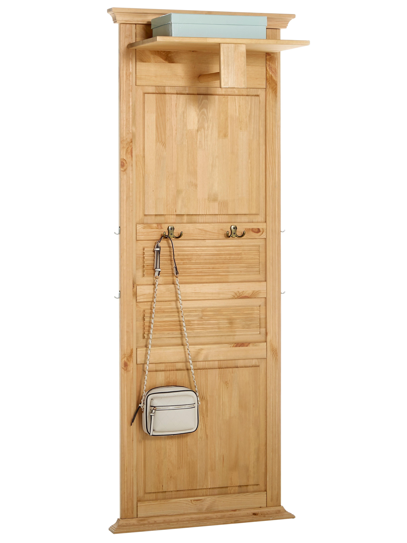 heine home Garderobenpaneel aus Massivholz