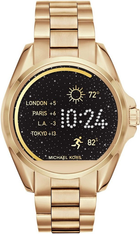 michael kors access bradshaw mkt5001 smartwatch android wear inkl dornschlie e f r. Black Bedroom Furniture Sets. Home Design Ideas