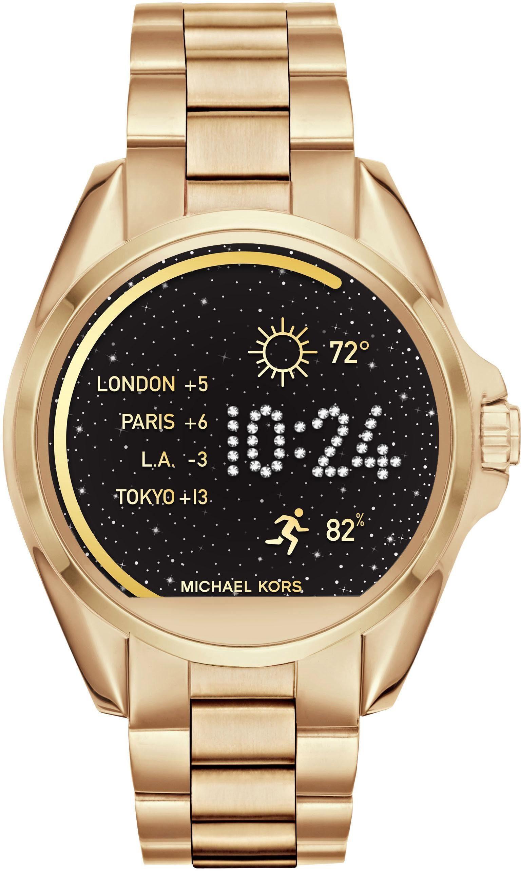 MICHAEL KORS ACCESS BRADSHAW, MKT5001 Smartwatch (Android Wear, inkl. Dornschließe für Wechselband)
