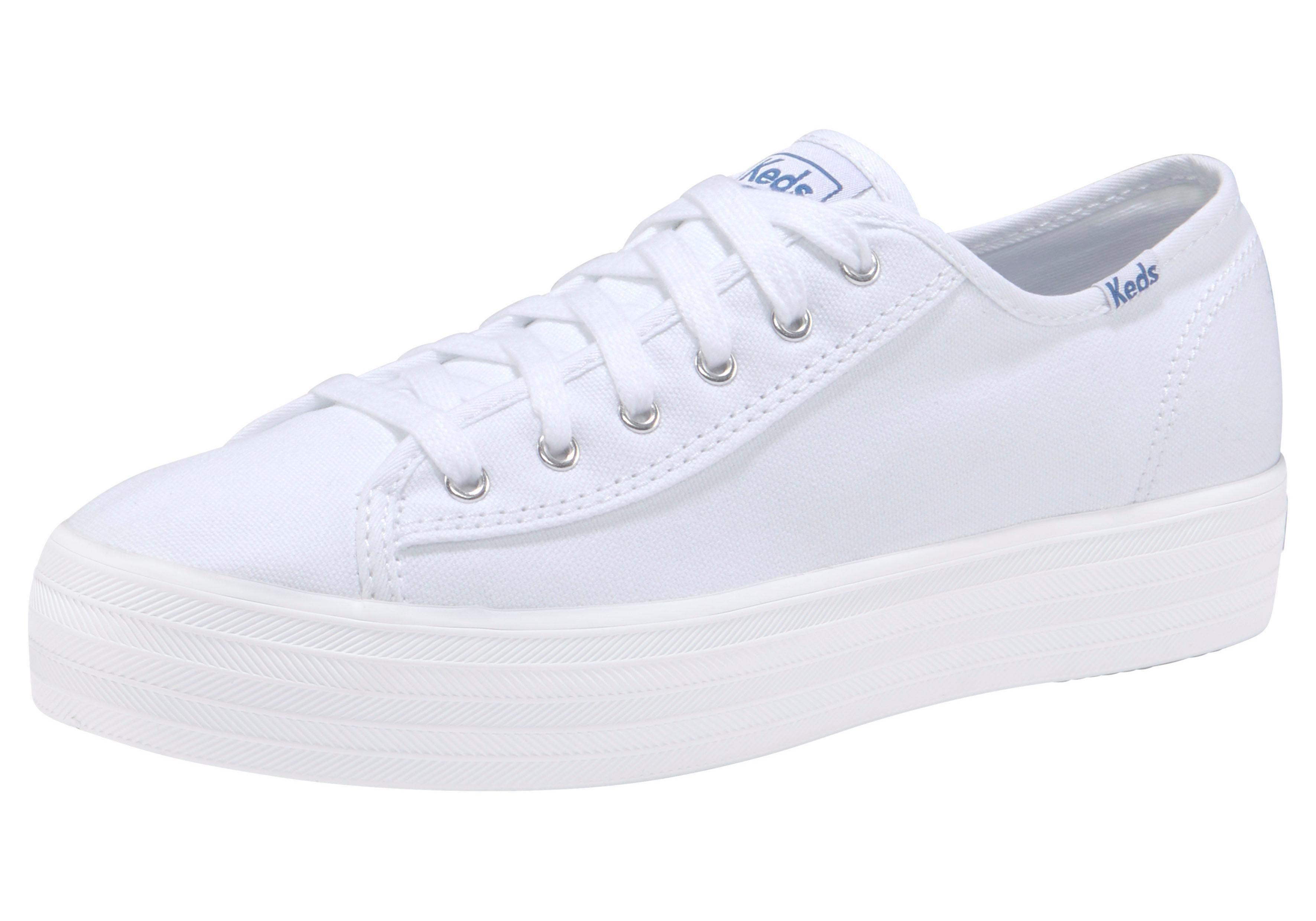 Keds Triple Kick Canvas Sneaker online kaufen  weiß