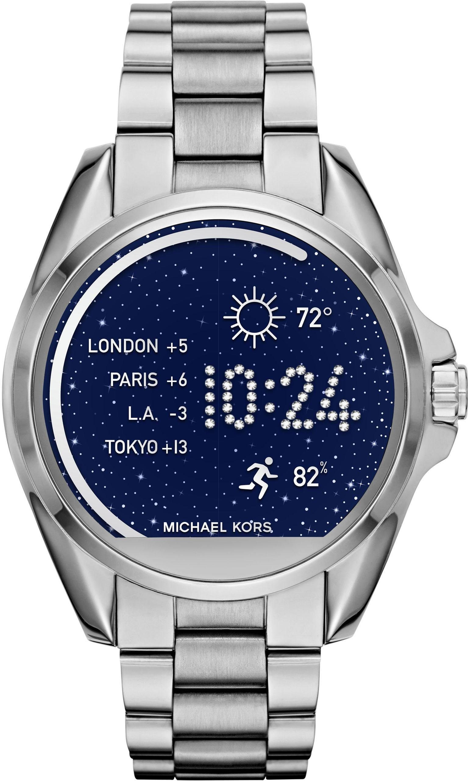 MICHAEL KORS ACCESS BRADSHAW, MKT5012 Smartwatch (Android Wear, inkl. Dornschließe für Wechselband)