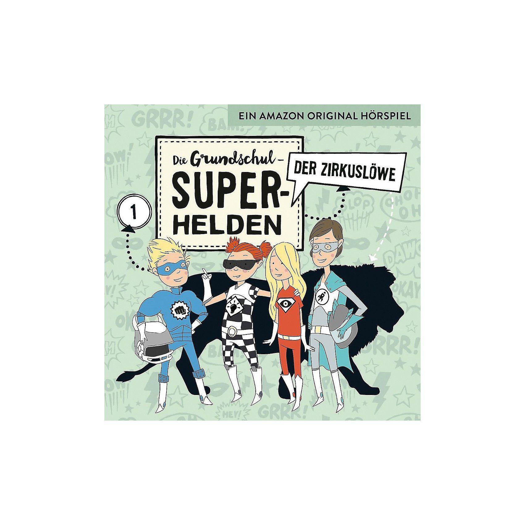Universal CD Die Grundschul-Superhelden 01 - Der Zirkuslöwe