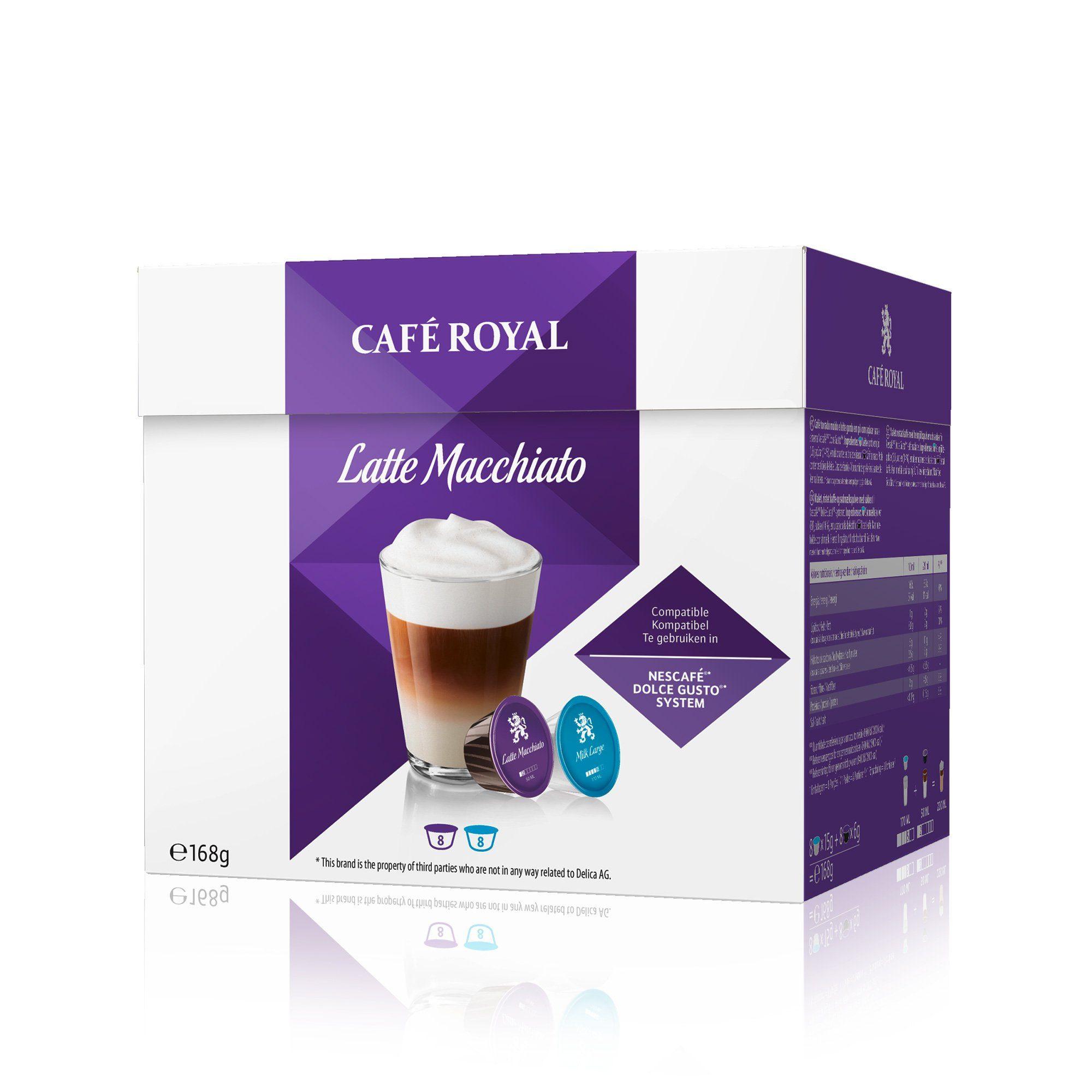 Café Royal Kaffee »Latte Macchiato«