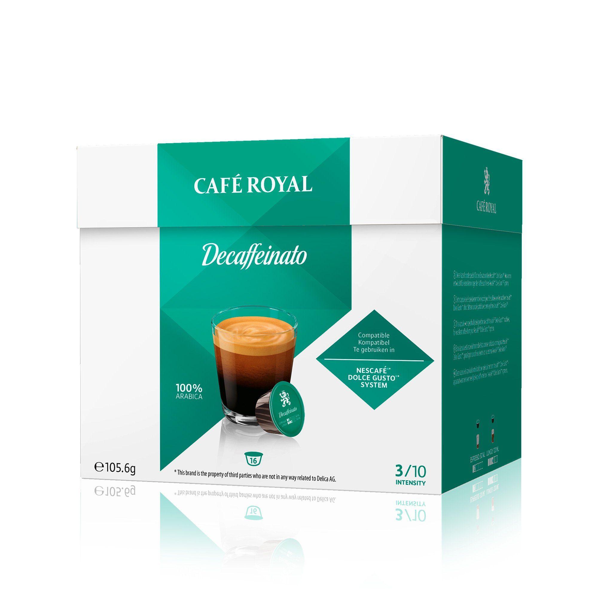 Café Royal Kaffee »Decaffeinato«
