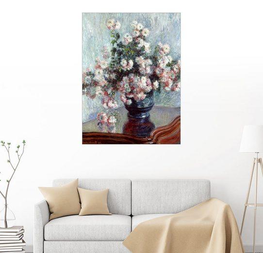 Posterlounge Wandbild - Claude Monet »Chrysanthemen«
