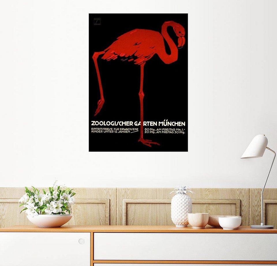 posterlounge wandbild zoo m nchen online kaufen otto. Black Bedroom Furniture Sets. Home Design Ideas